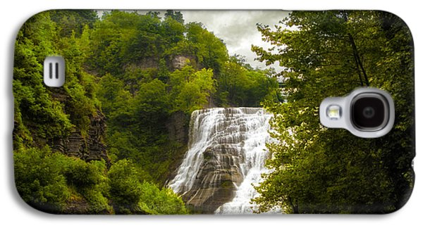 Summer At Ithaca Falls Galaxy S4 Case by Jessica Jenney