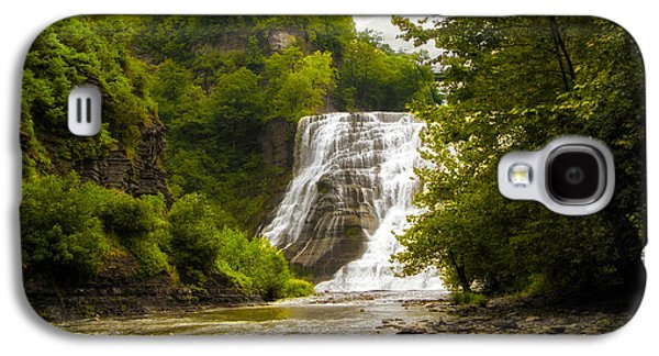 Ithaca Galaxy S4 Cases - Summer at Ithaca Falls Galaxy S4 Case by Jessica Jenney