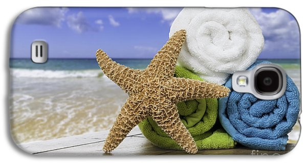 Summer Beach Towels Galaxy S4 Case by Amanda And Christopher Elwell