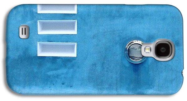 Anna Villarreal Garbis Galaxy S4 Cases - Summer Blues Galaxy S4 Case by Anna Villarreal Garbis