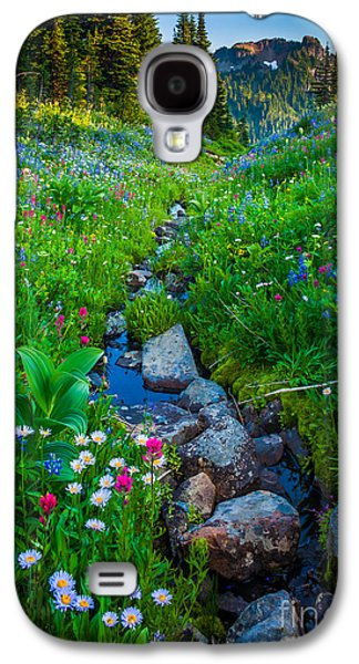 Summer Creek Galaxy S4 Case by Inge Johnsson