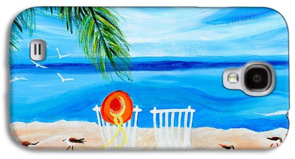 Summer Feelings Galaxy S4 Case by Art by Danielle