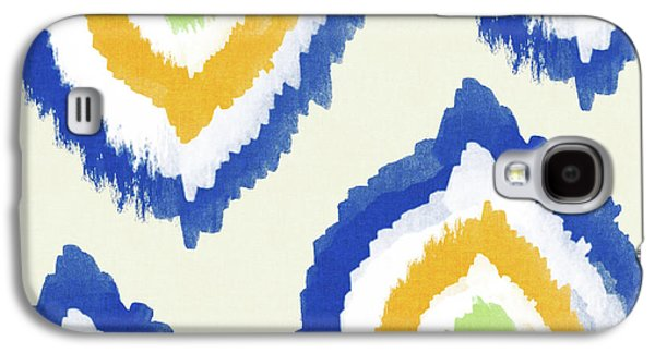 Summer Ikat- Art By Linda Woods Galaxy S4 Case by Linda Woods