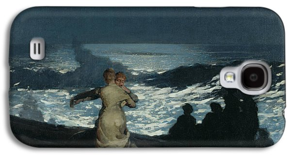 Embracing Galaxy S4 Cases - Summer Night Galaxy S4 Case by Winslow Homer