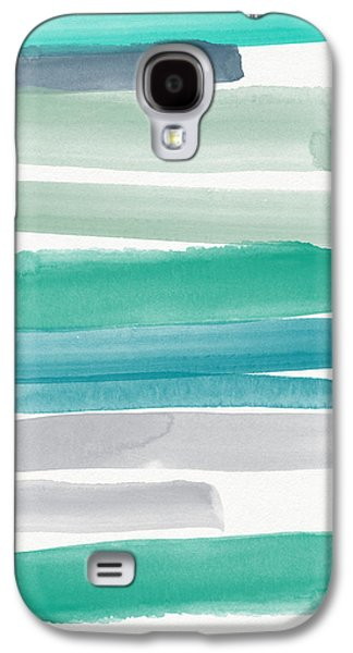 Gallery Paintings Galaxy S4 Cases - Summer Sky Galaxy S4 Case by Linda Woods