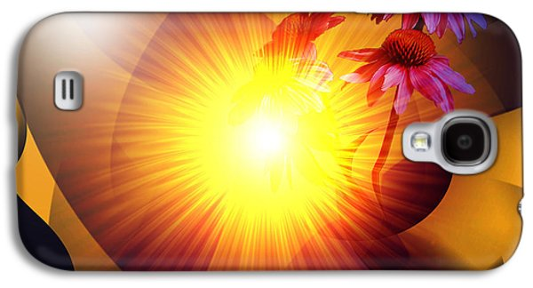 Summer Solstice II Galaxy S4 Case by Patricia Motley