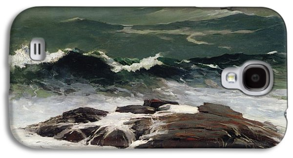 Summer Storm Galaxy S4 Cases - Summer Squall Galaxy S4 Case by Winslow Homer