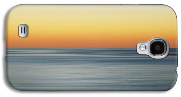 Sunset Abstract Galaxy S4 Cases - Summer Sunset Galaxy S4 Case by Az Jackson