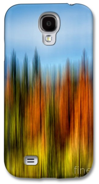 Vibrant Colors Digital Galaxy S4 Cases - Summers Coming Galaxy S4 Case by Az Jackson