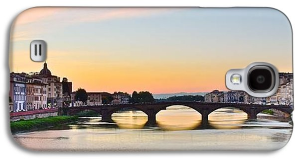 Sun Sets On Florence Galaxy S4 Case by Frozen in Time Fine Art Photography