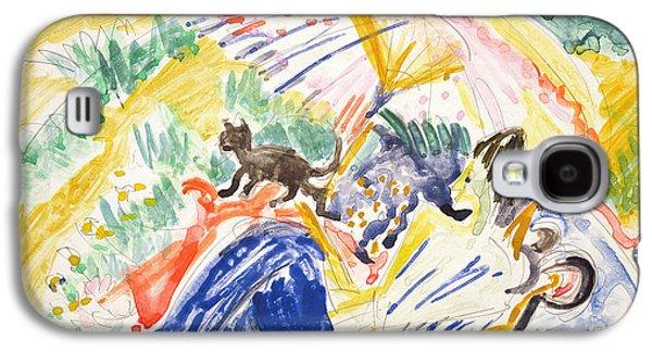 Sunbathing Galaxy S4 Case by Ernst Ludwig Kirchner