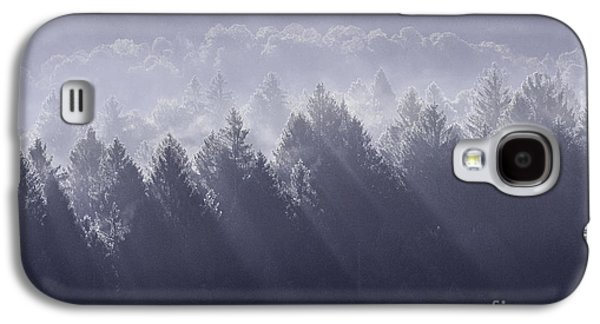 Trees Photographs Galaxy S4 Cases - Sunbeams Galaxy S4 Case by Yuri Santin
