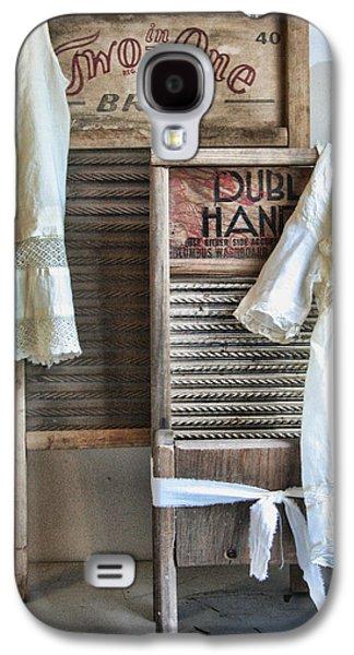 Washing Machine Galaxy S4 Cases - Sundays Best Galaxy S4 Case by Marcie  Adams