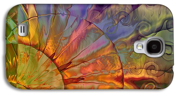Abstracted Galaxy S4 Cases - Sundial Galaxy S4 Case by Mindy Sommers