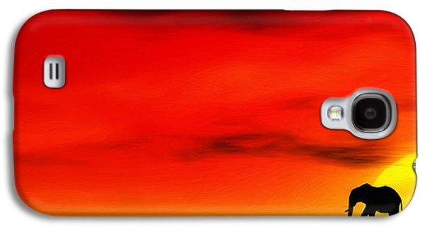 Tusk Galaxy S4 Cases - Sundown Galaxy S4 Case by John Edwards