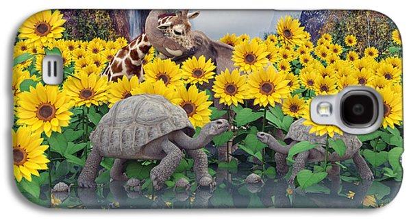 Sunflower Daydream  Galaxy S4 Case by Betsy C Knapp