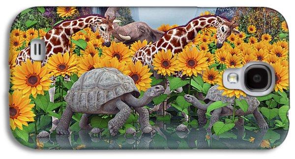 Sunflower Daydream II Galaxy S4 Case by Betsy C Knapp