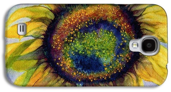 Emergence Galaxy S4 Cases - Sunflower  Emergence Galaxy S4 Case by Janine Riley