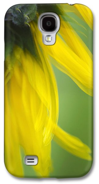 Sun Galaxy S4 Cases - Sunflower Motion Blur Galaxy S4 Case by Christina Rollo
