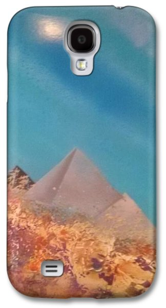 Ancient Galaxy S4 Cases - Sunken Pyrimids Galaxy S4 Case by Michael Fenn