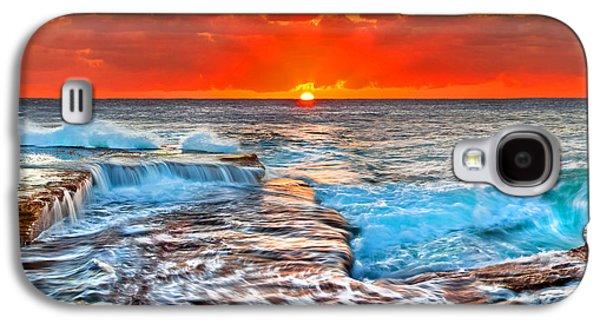 Morning Photographs Galaxy S4 Cases - Sunlight Delight Galaxy S4 Case by Az Jackson