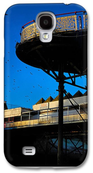 Old Relics Galaxy S4 Cases - Sunlit Pier Galaxy S4 Case by Mal Bray
