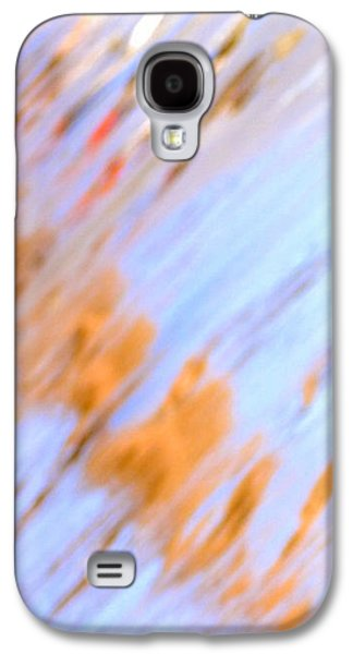 Modern Abstract Pyrography Galaxy S4 Cases - Sunny Day 1 Galaxy S4 Case by Artist Jacquemo