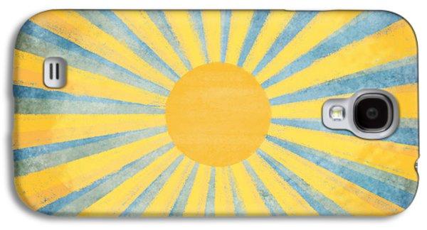 Temperature Galaxy S4 Cases - Sunny Day Galaxy S4 Case by Setsiri Silapasuwanchai