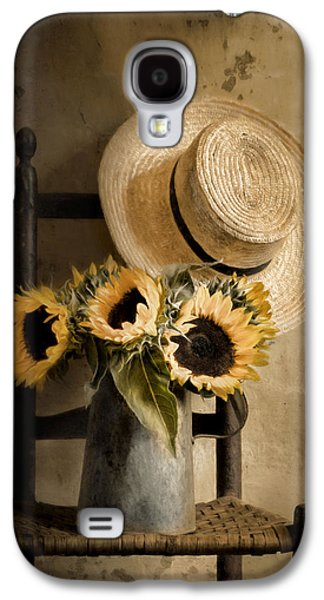 Ladder Back Chairs Galaxy S4 Cases - Sunny Inside Galaxy S4 Case by Robin-lee Vieira