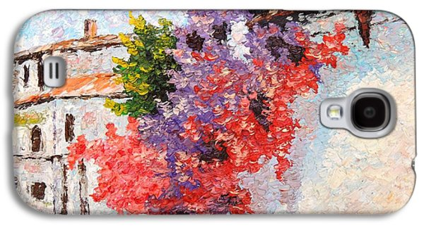 Sunny Morning In Greece Galaxy S4 Case by Sergei Kolesov