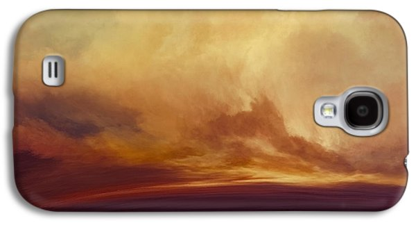 Emotion Mixed Media Galaxy S4 Cases - Sunny Tomorrows Galaxy S4 Case by LC Bailey