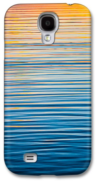 Sunset Abstract Galaxy S4 Cases - Sunrise Abstract  Galaxy S4 Case by Parker Cunningham