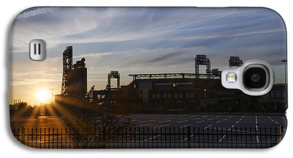 Citizens Bank Park Galaxy S4 Cases - Sunrise at Citizens Bank Park - Philidelphia Galaxy S4 Case by Bill Cannon