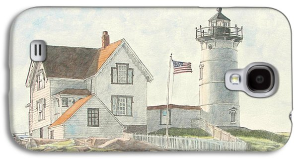 Sunrise At Nubble Light Galaxy S4 Case by Dominic White