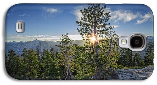 Sunrise On Sentinel Dome Galaxy S4 Case by Rick Berk