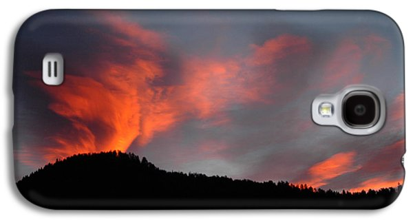 Quaker Paintings Galaxy S4 Cases - Sunrise over Quaker Ridge Galaxy S4 Case by Dennis  Rundlett