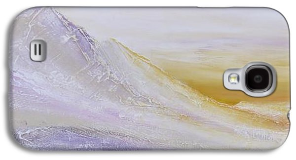 Sunset Abstract Galaxy S4 Cases - Sunrise Over The Mountains Galaxy S4 Case by Irina Rumyantseva