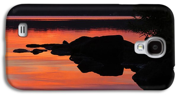 Contemplative Photographs Galaxy S4 Cases - Sunrise Silhouettes  Galaxy S4 Case by Dianne Cowen