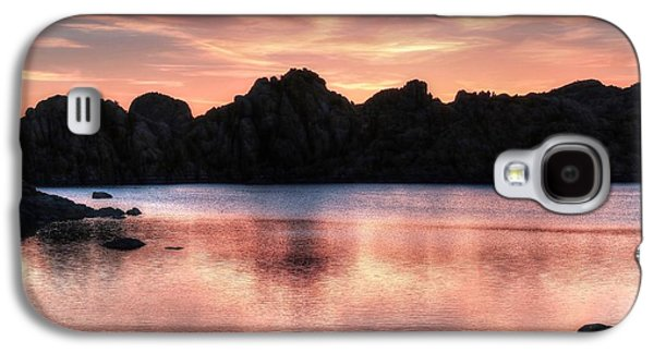 Sunrise Silhouettes Galaxy S4 Case by Donna Kennedy