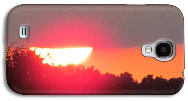 Transportation Photographs Galaxy S4 Cases - Sunset 2015 August 2 Of 4 Galaxy S4 Case by Tina M Wenger