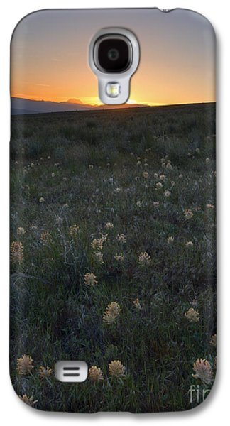 Yakima Valley Galaxy S4 Cases - Sunset and Clover Galaxy S4 Case by Mike Dawson