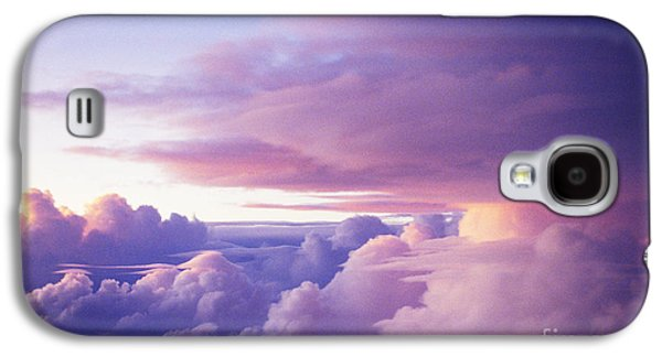 Landscapes Photographs Galaxy S4 Cases - Sunset Clouds Galaxy S4 Case by Bob Abraham - Printscapes