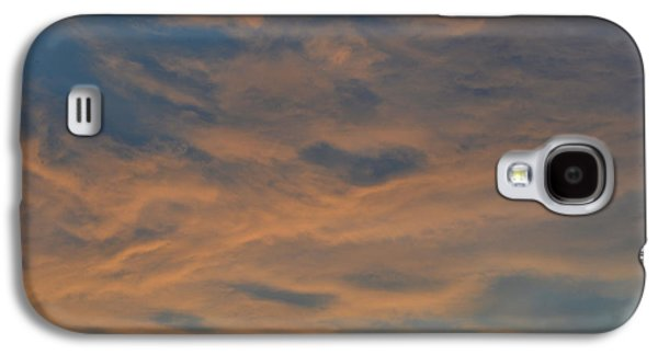 Nature Abstracts Galaxy S4 Cases - Sunset Clouds One Night  Galaxy S4 Case by Lyle Crump