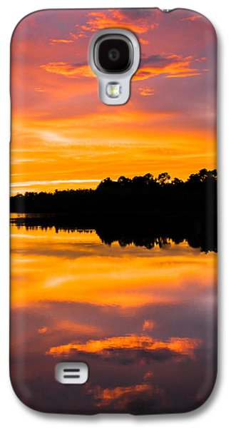 Sun Galaxy S4 Cases - Sunset Colors Galaxy S4 Case by Parker Cunningham