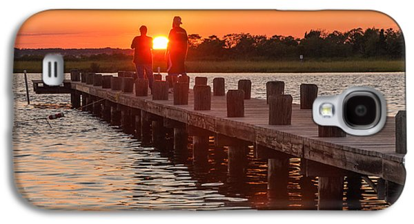 Sunset Couple Galaxy S4 Case by Kristopher Schoenleber