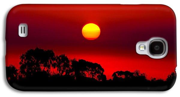Sunset Dreaming Galaxy S4 Case by Az Jackson