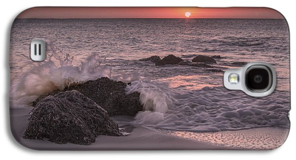 Timing Galaxy S4 Cases - Sunset Escape Galaxy S4 Case by Betsy C  Knapp