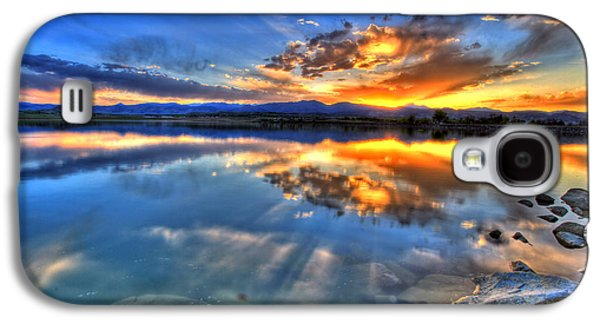 Sunset Explosion Galaxy S4 Case by Scott Mahon
