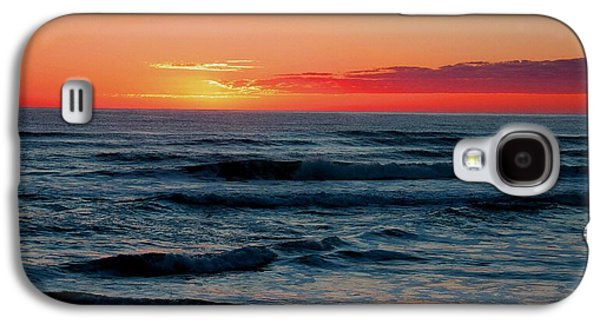 Abstract Digital Pastels Galaxy S4 Cases - Sunset For Mia H b Galaxy S4 Case by Gert J Rheeders