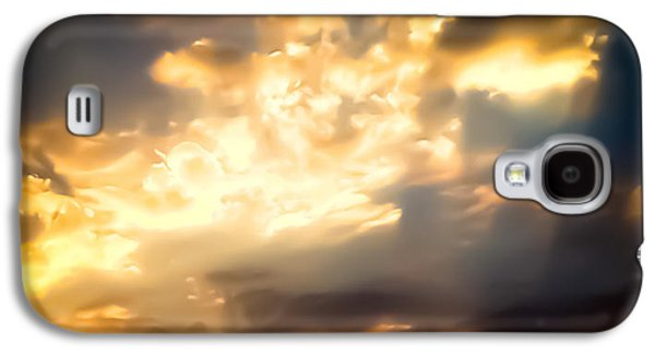 Abstract Landscape Galaxy S4 Cases - Sunset in July Galaxy S4 Case by Heather Joyce Morrill